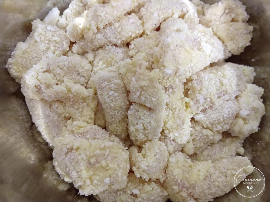 coco pollo empanizado