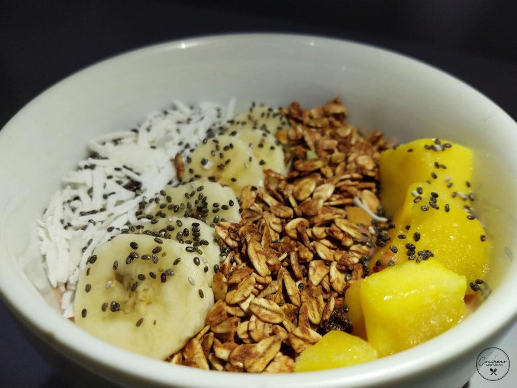 desayunos smoothie bowl