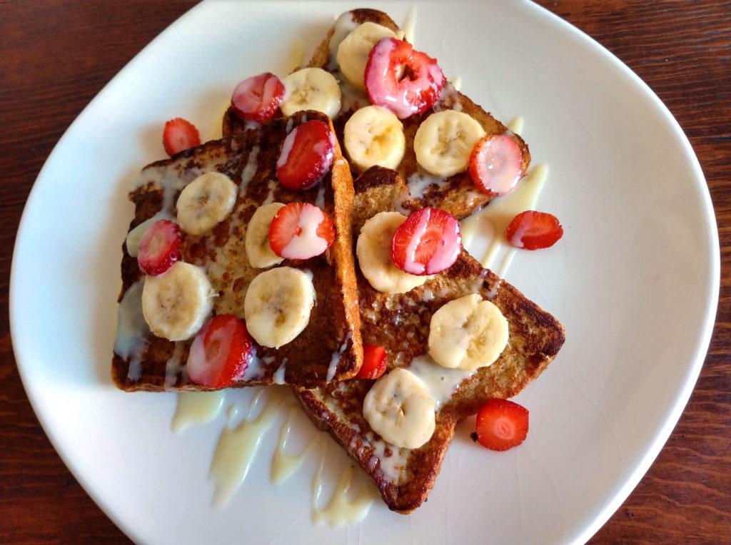 desayunos: pan francés