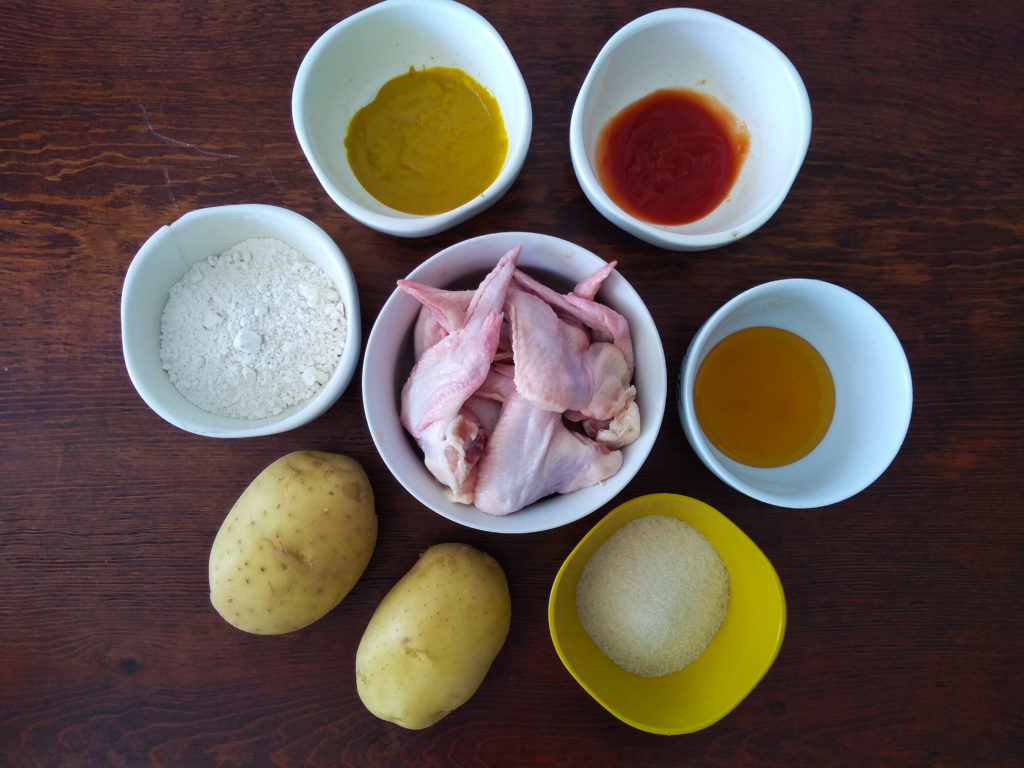ingredientes alitas bbq