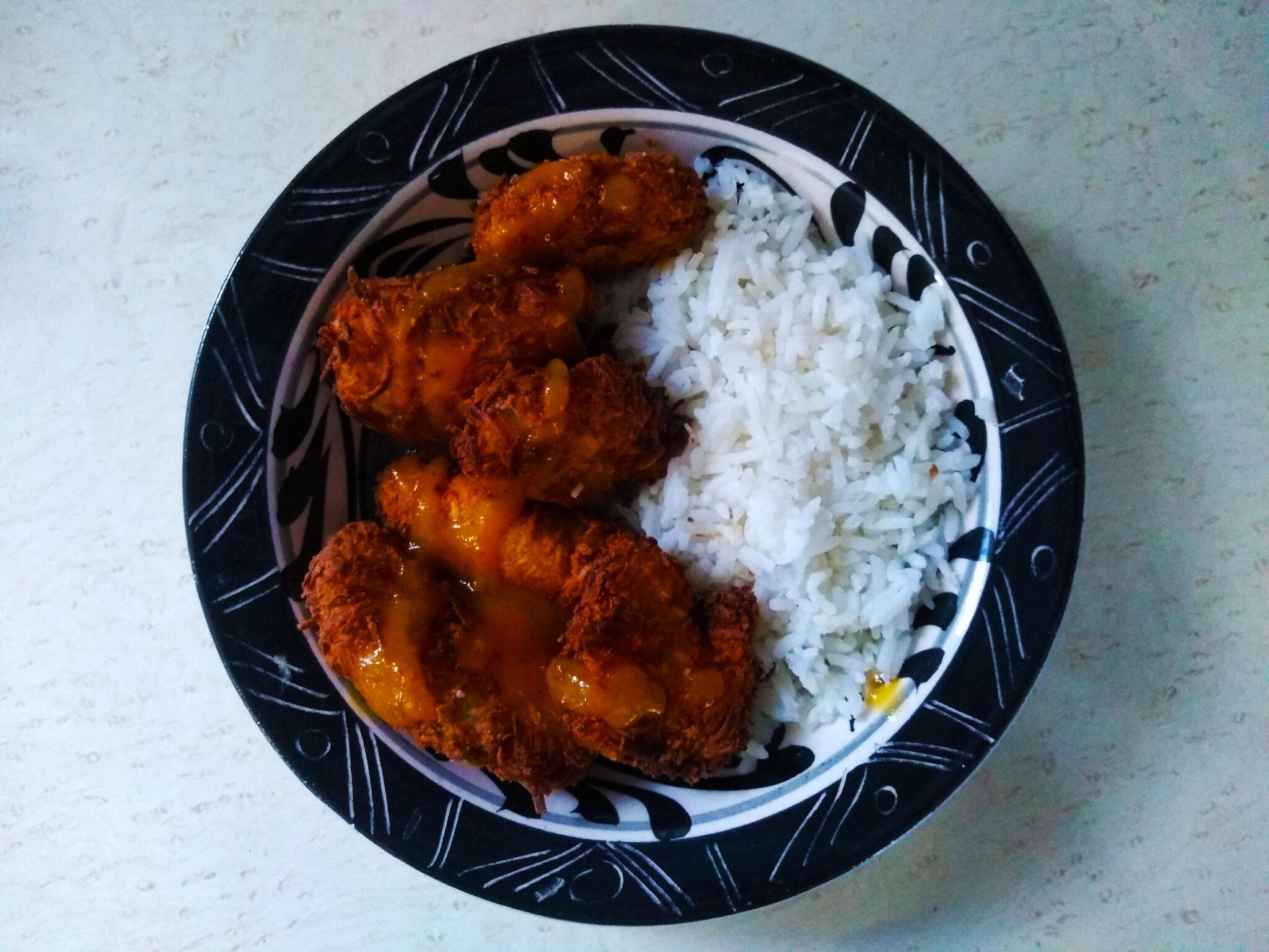 recetas con pollo y durazno